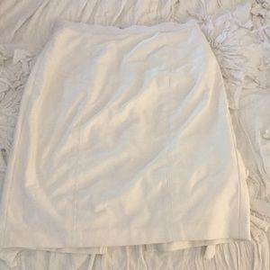 Tracy Reese white pencil skirt